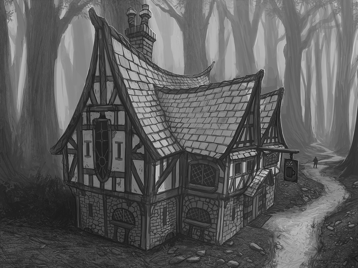 Commission: Forest Tavern by DanilLovesFood