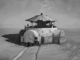 Commission: Desert Cookhut