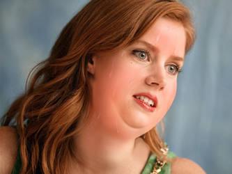 Fat n' Sweaty Amy Adams by JiggleMessiah