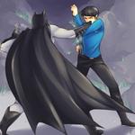 Batman vs Spock