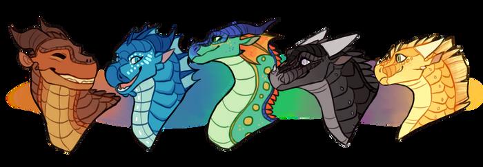 The Dragonets [SPEEDPAINT]