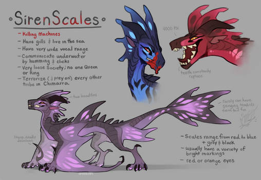 SirenScales - WoF Fantribe concept thing