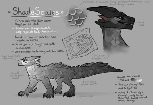 ShadeScales - WoF Fantribe concept thing