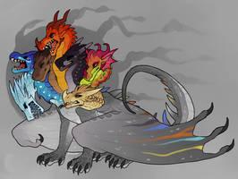 a WoF Hydra by Spookapi