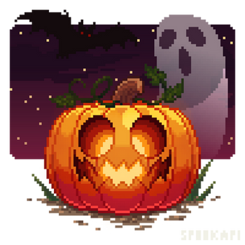 spooky month happy