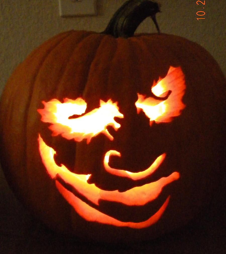 Another joker pumpkin by jlocke on deviantart