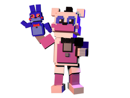 [C4d] Minigame Funtime Freddy   Finished by The-Smileyy