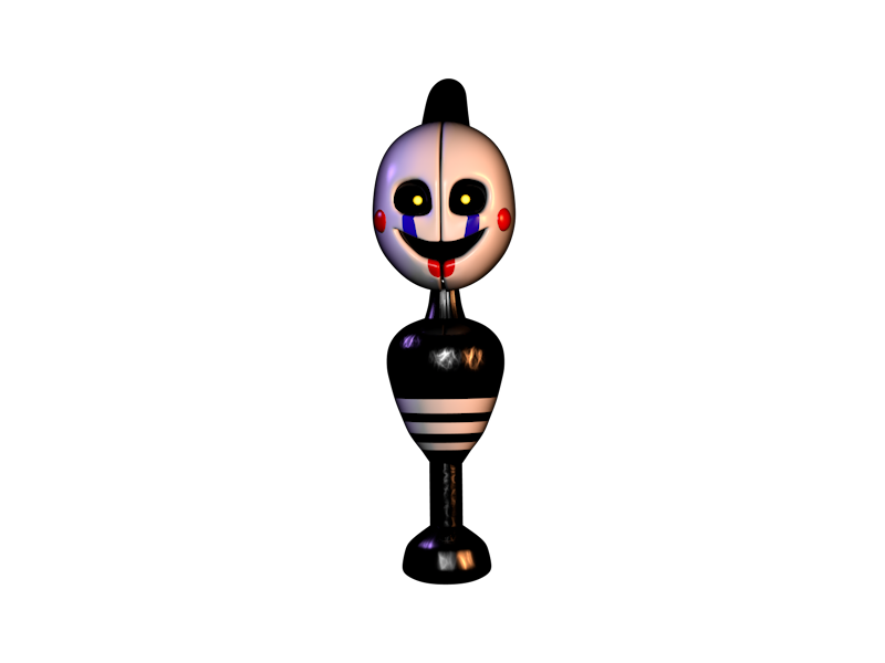Stylized Security Puppet by The-Smileyy