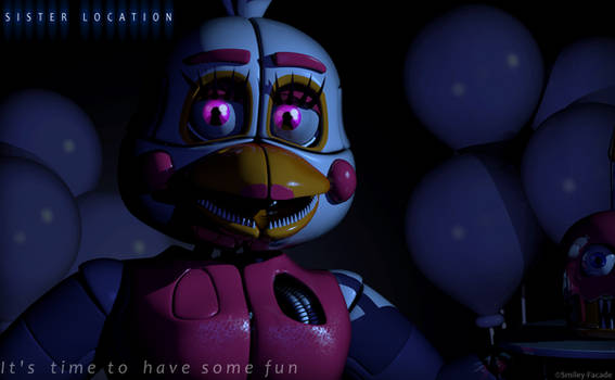 C4d   Funtime Chica  - Teaser