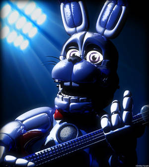 C4d   Strings in your neck [Funtime Bonnie]