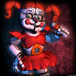Cinema 4d | Circus Baby V7 by Fazersion