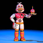 Funtime Chica - Extras Render