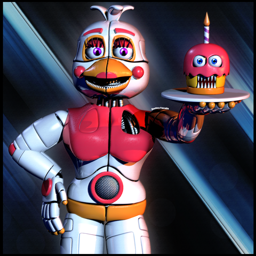 10 lucky people will get this FuntimeChica for SFM by The-Smileyy