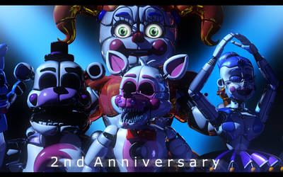 Sister Location 2nd Anniversary by The-Smileyy