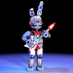 Funtime Bonnie v2.5 by The-Smileyy