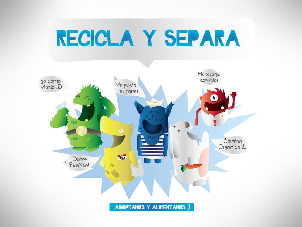 Recicla y Separa by Mgl-23