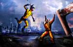 Wolverine vs Sabretooth.