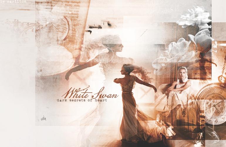 white swan by Carllton