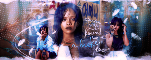 Broken Place: signature by Carllton