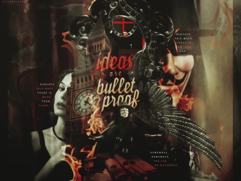 Ideas are Bulletproof : Blend by Carllton