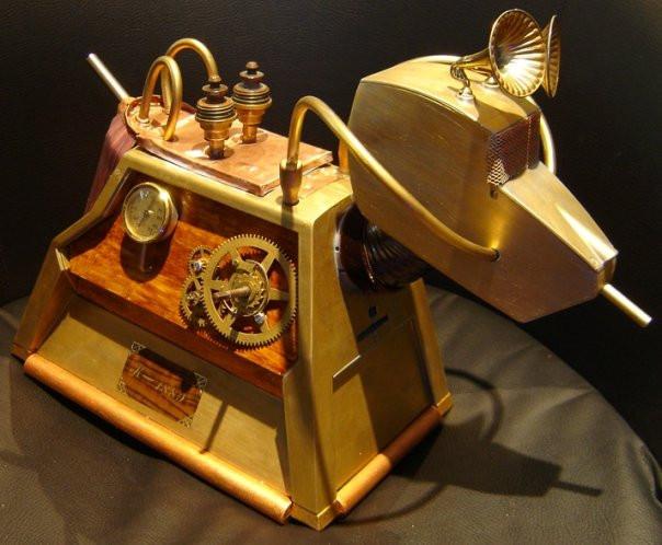 K-1889 - Steampunk Dr. Who K-9