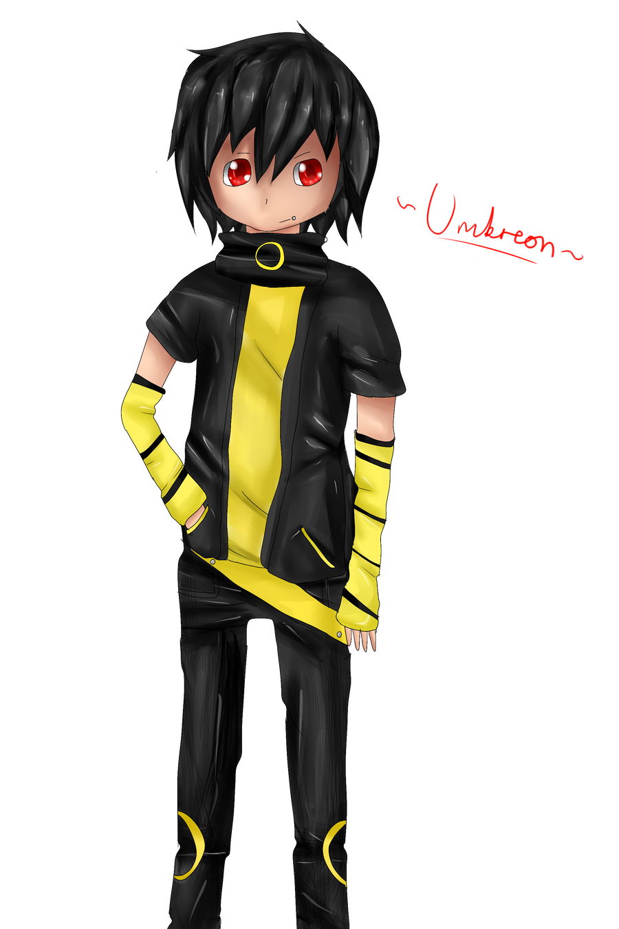 Pokemon Umbreon Human ...