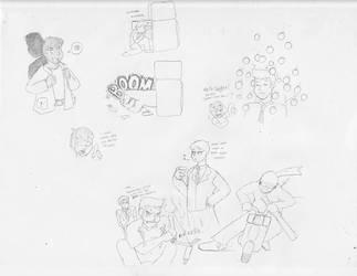 Bargain Bin doodles
