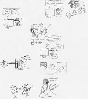 Doodles at work