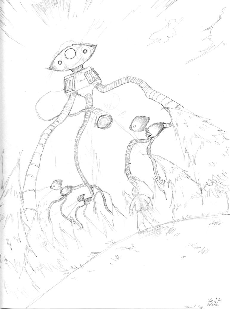 War of the Worlds WIP by lion-dance
