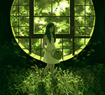 Viridian Window by riysse