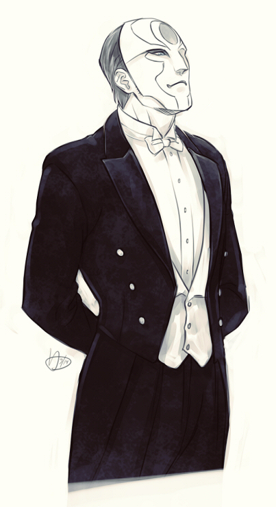 Suit up, Amon by frostious