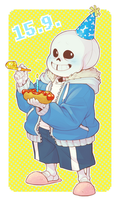 B-day stands for bone-day probably?