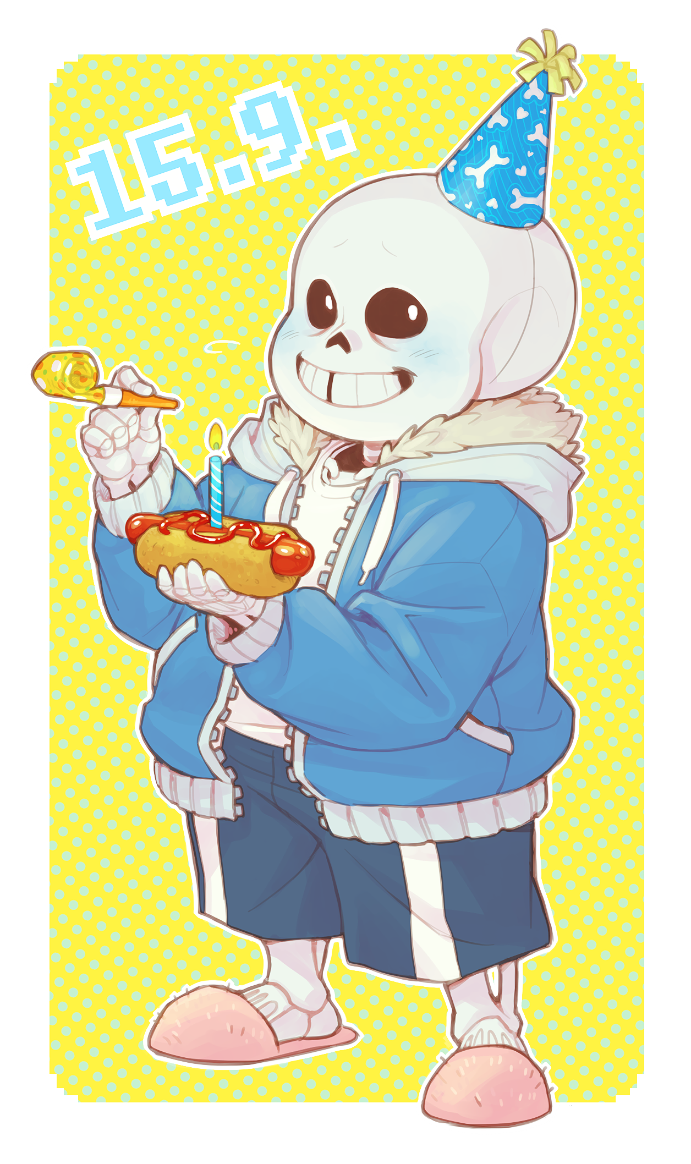 B-day stands for bone-day probably? by frostious