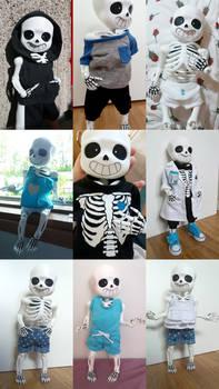 clothes for a tiny bone boy