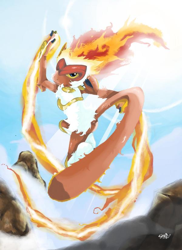 Blaze dance by badershirawi