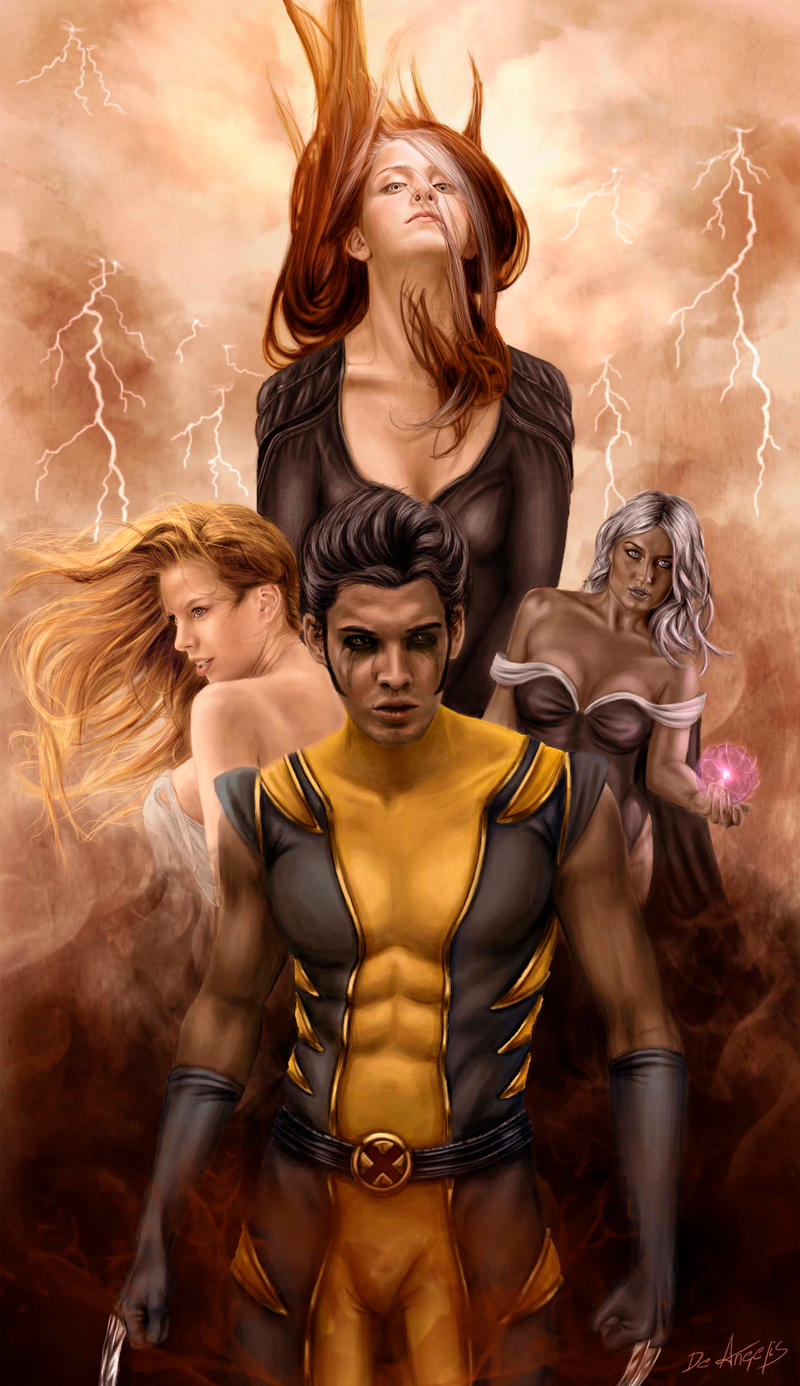 Xmen cover by raffa3le