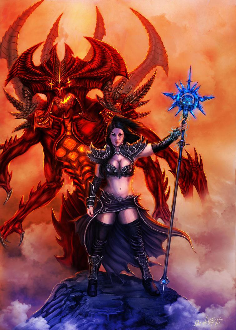 Diablo3 Reaper of souls - Wizard by raffa3le on DeviantArt