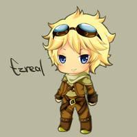 Ezreal - League of Legends by Cherrycake4