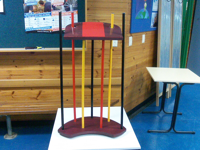 Industrial Cake Stand