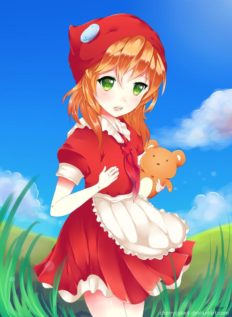 Red Riding Annie by Cherrycake4
