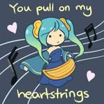 Sona - LoL Valentines Card