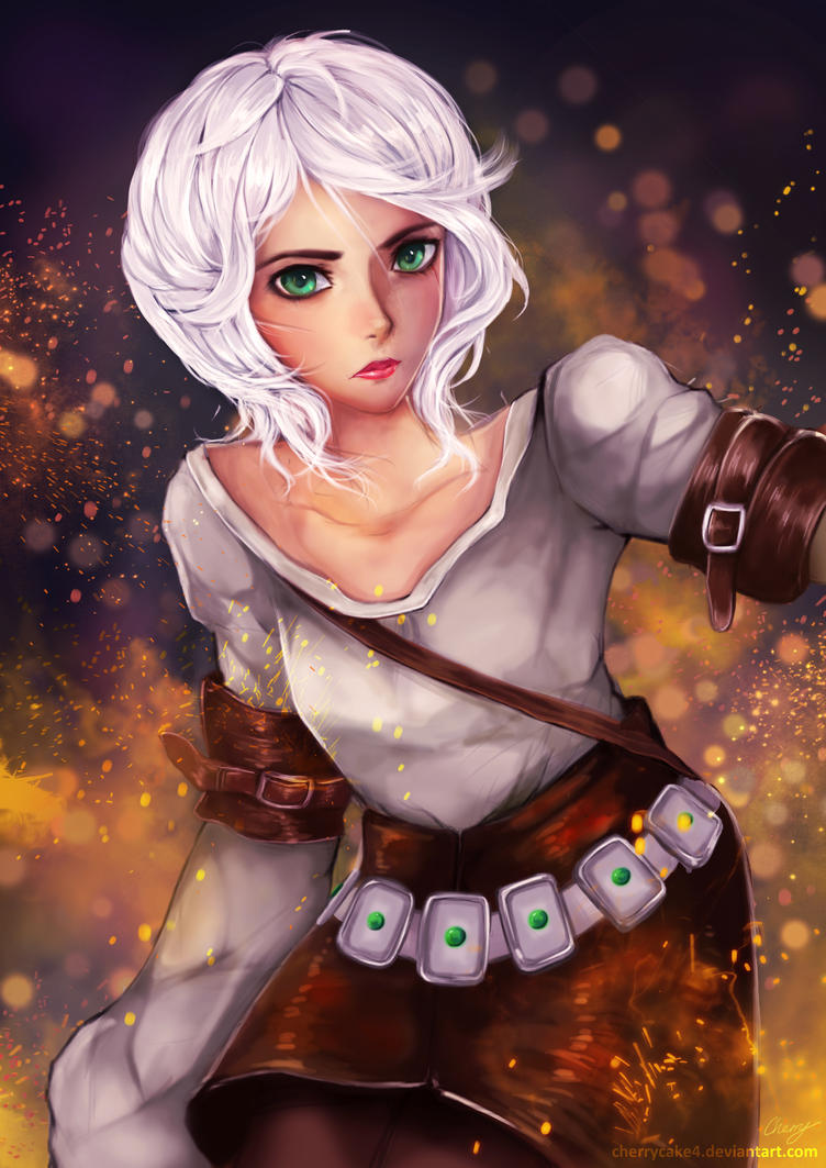 Ciri - The Witcher 3 by Cherrycake4