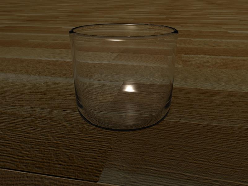 Glass on Oak by Alias-Bill
