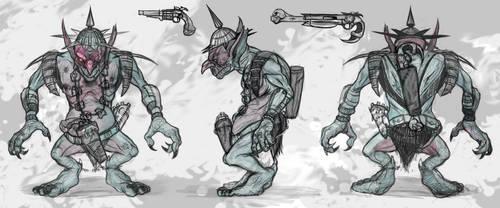 Goblin Gunslinger