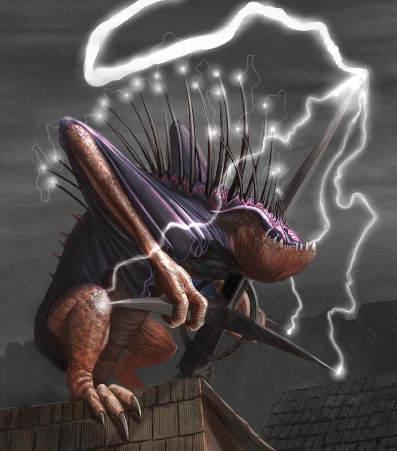 Lightning Dragon by Davesrightmind on DeviantArt: davesrightmind.deviantart.com/art/Lightning-Dragon-115519131