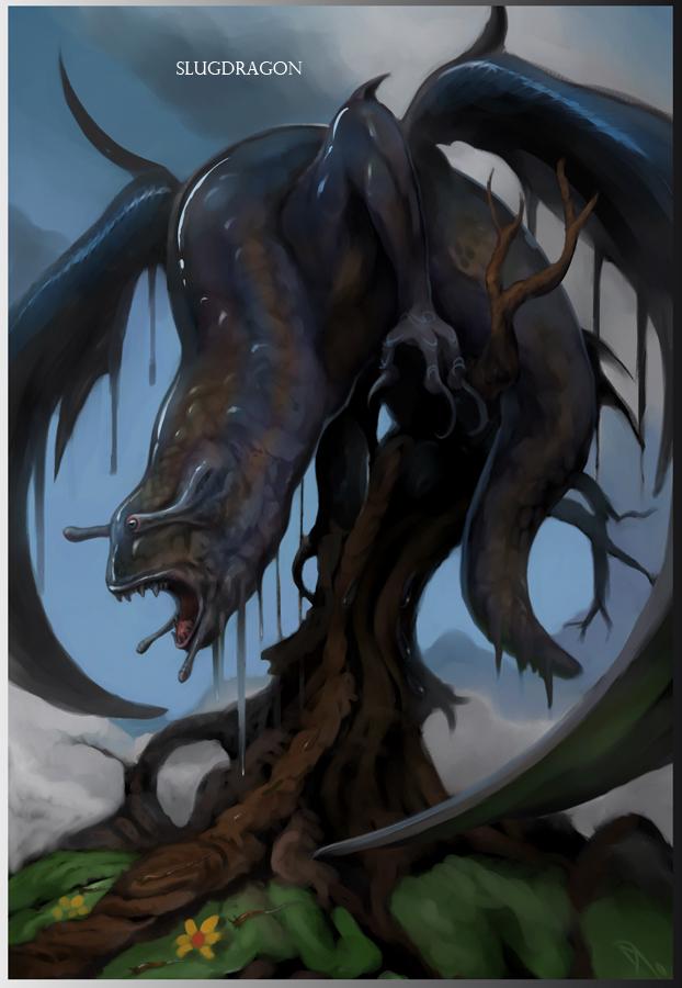 Slug Dragon by Davesrightmind