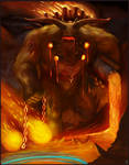 Fire Colossus Going for Rift