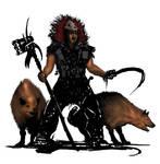 Beast Master -Hyenas- WIP