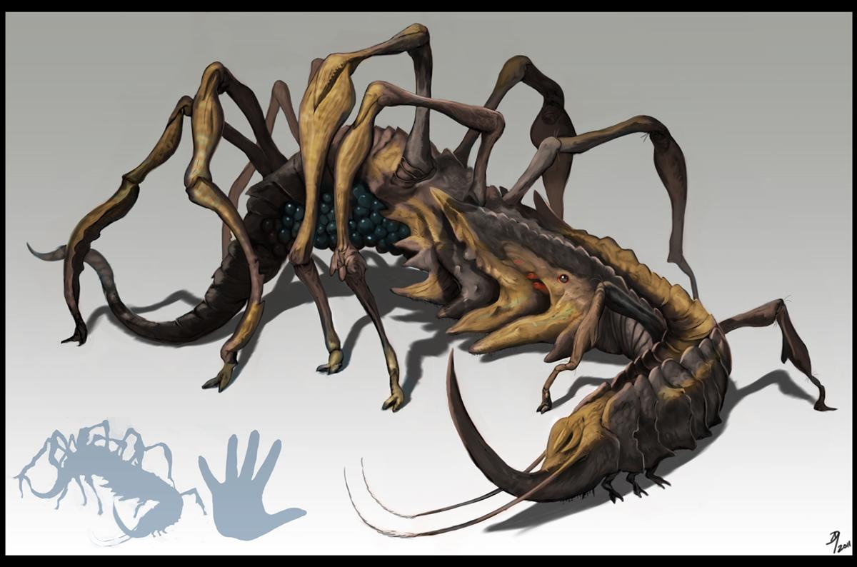Creepy Crawler by Davesrightmind
