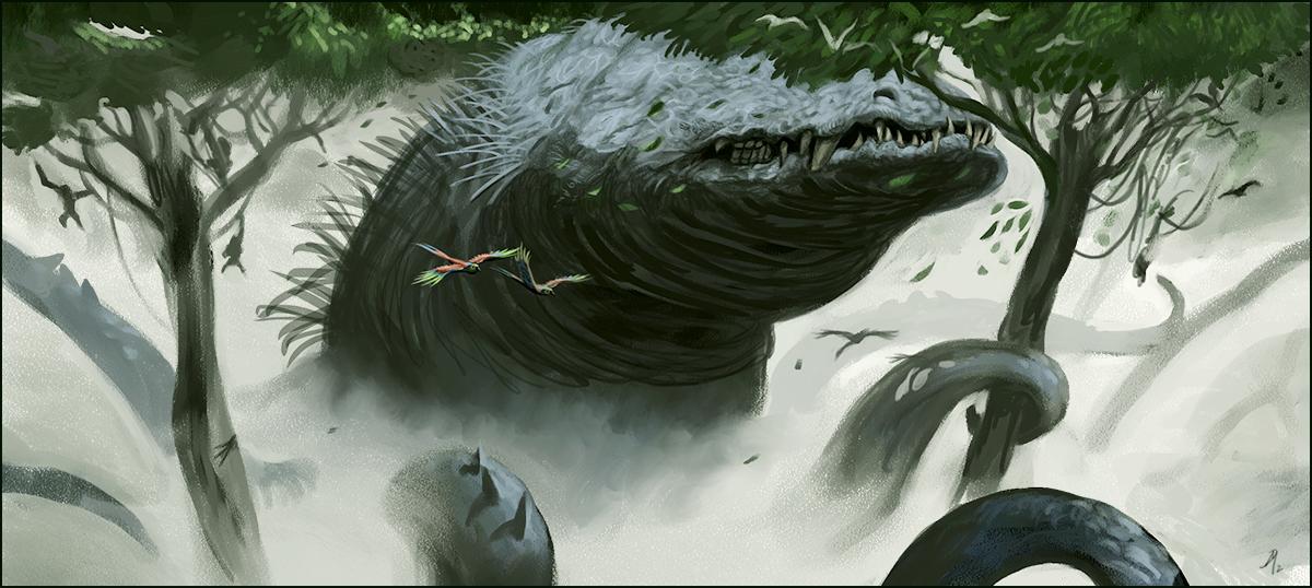 Rainforest Beast by Davesrightmind